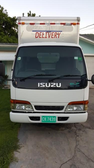 Isuzu Elf Box Body Truck-SOLD!