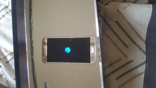 Galaxy S7 Gold'