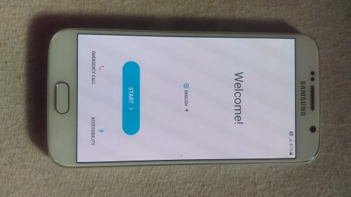 Samsung Galaxy S6 Like New Condition