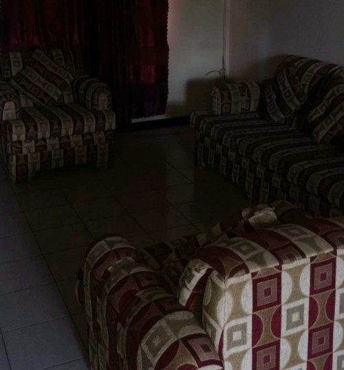 Three (3) Piece Sofa Set