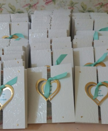 Cake Boxes, Programs, Invitations