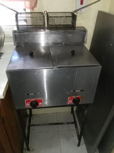 2Burner GasTable Top Deep Fryer