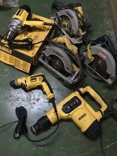 New And Used Tools Going Fast