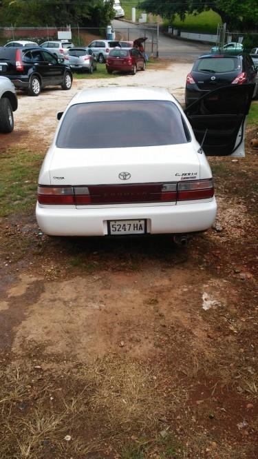 1994 Toyota Corolla Police Shape