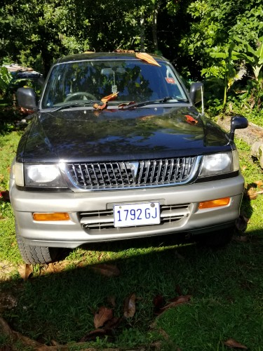 1998 Mitsubishi Challenger  Automatic Gas Engine