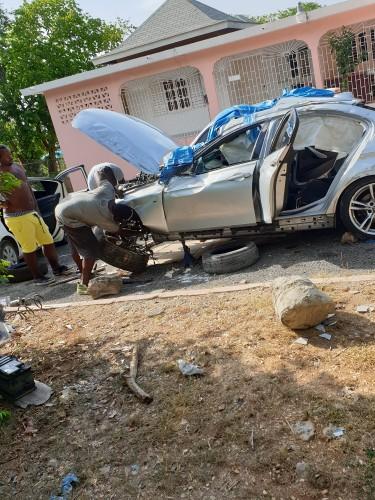 BMW 2015 F30 328i Scrapping