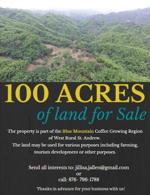 100 Acres Of Land