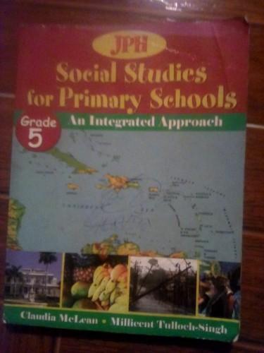 Grade 5 Books: JPH Social Studies. Integrated Appr
