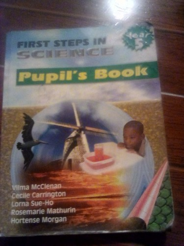 Grade 5 Books: First Steps In Science