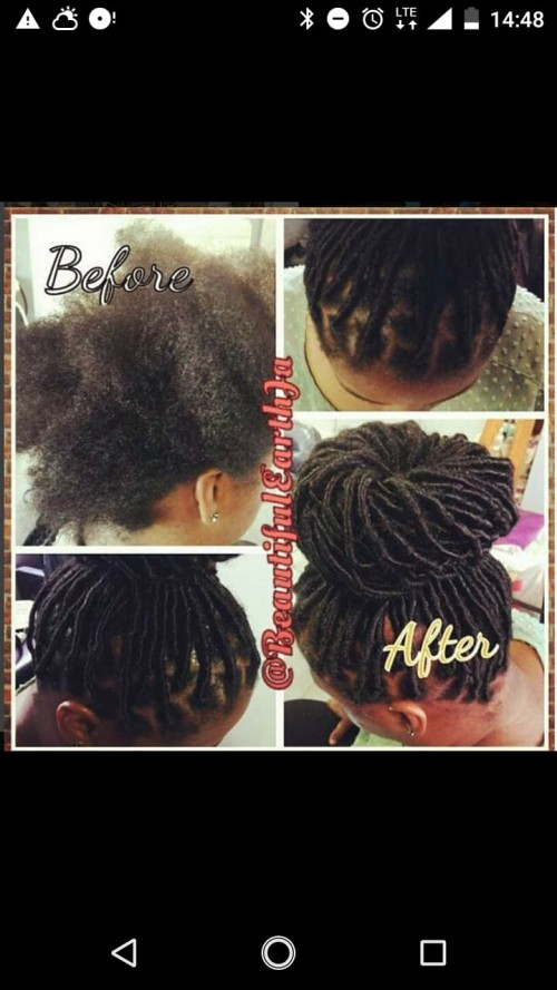 Locs Crochet Hair Service