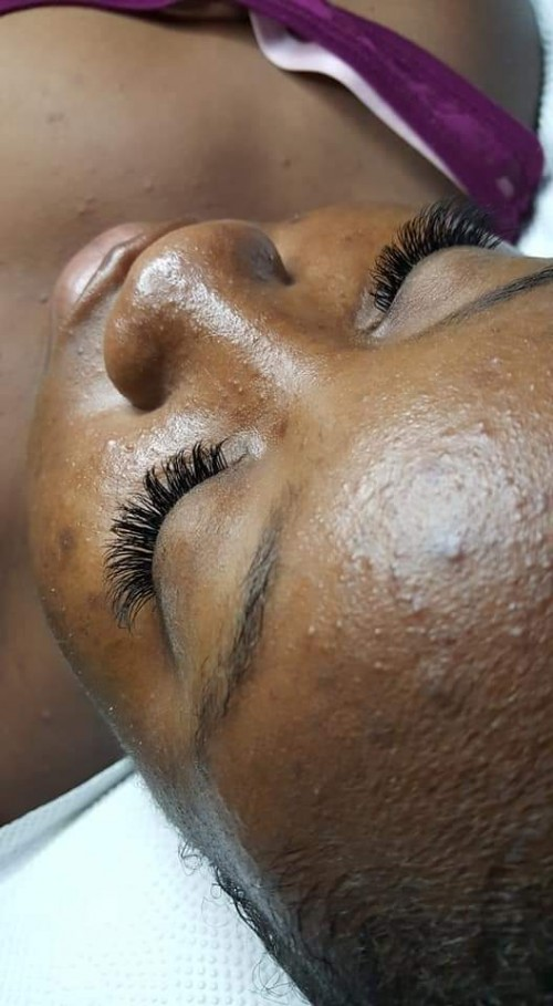 Eyelash Extensions (fusion Lashes)