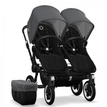 Bugaboo Donkey 2 Twin Black 2x Cabriofix System