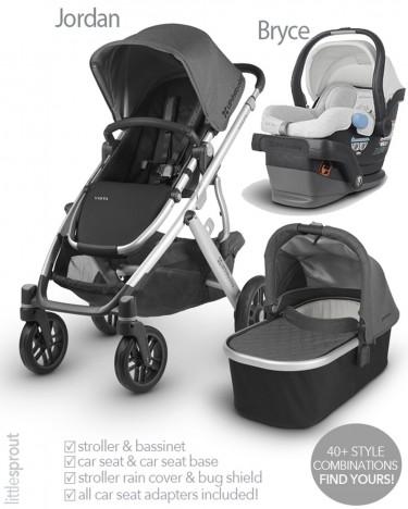 2019 UPPAbaby Vista Stroller & Mesa Car Seat