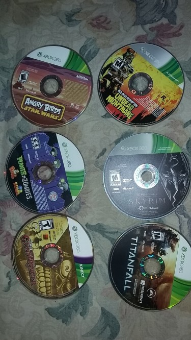 Xbox 360 Cds No Case