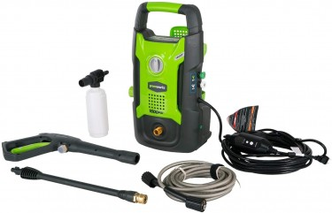 Car Electric Power Washer (Greenworks) 1500psi
