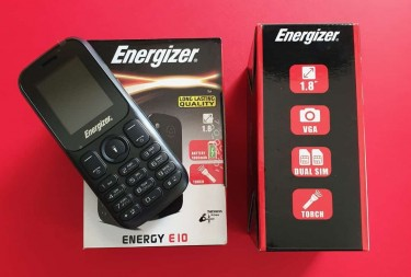Energizer E10 Dual Dim Phone