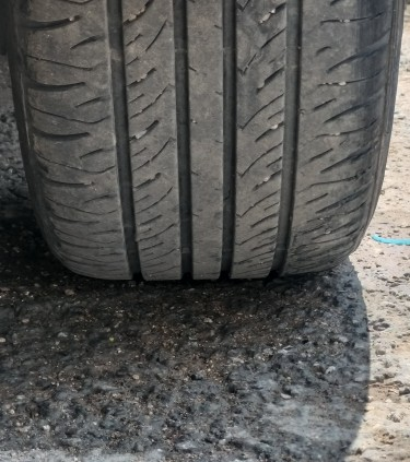 Original 16 Inch Toyota Rims With Tire
