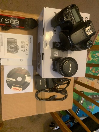 Brand NEW Canon EOS 70D 20.2MP Digital SLR Camera