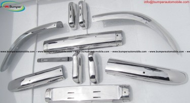 Volvo PV 544 Euro Bumper (1958-1965) Stainless Ste