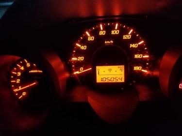 2011 Yellow Honda Fit