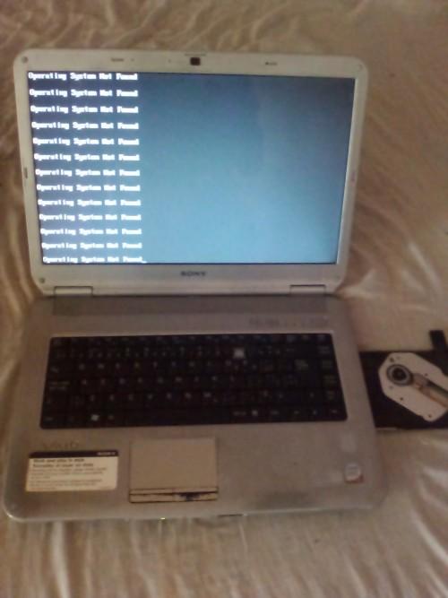 Sony Laptop Sellin It Wah Run Over Bk Windows 106g