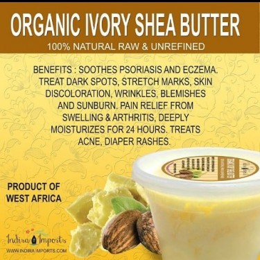 Raw Unrefined Shea Butter