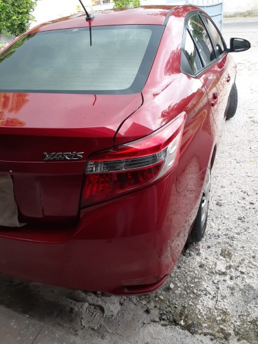 2016 Red Toyota Yaris Dealer Serviced