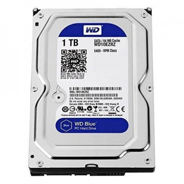 WD - Blue 1TB Internal SATA Hard Drive For Desktop