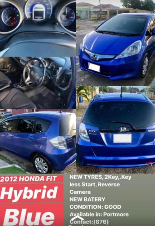 2012 Honda Hybrid Fit