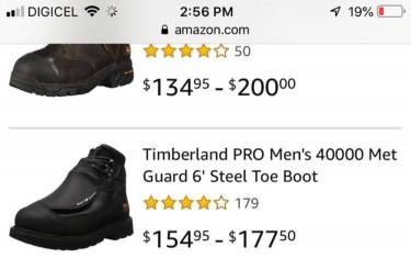 Timberland PRO Men 40000 Met Guard Steel Toe Boo