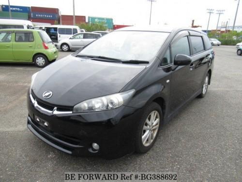 2010 Toyota Wish  Fresh Import