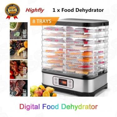 8 Tray Food Dehydrator Machine Professional -NEW!!