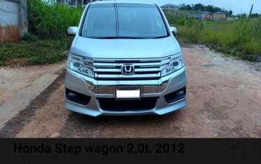 2012 Honda Step Wagon Spada