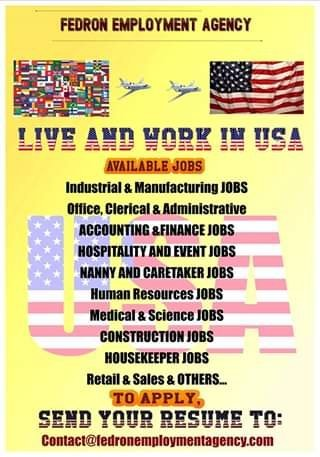 Leave Jamaica And Work In USA With A Work Visa