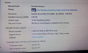 HP Mini Laptop Plus External CD/DVD Drive Combo