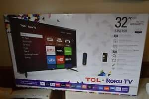 On Sale Now 32 And 42 Inch Flat Screen Smart TVs
