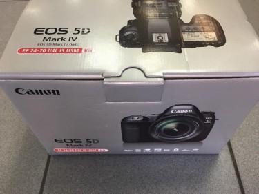 Canon Eos 5d Mark Iv New