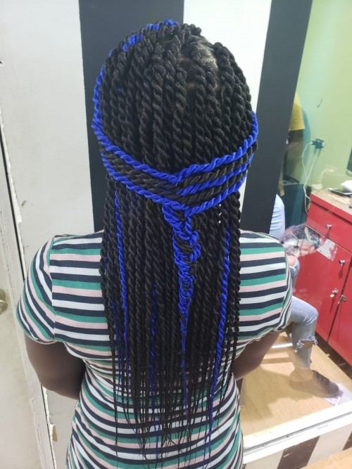 For The Best In Braiding Contact 1876327-7701