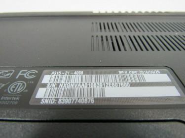 Acer Aspire 3 AMD A4-9120 8GB DDR4 1TB HD