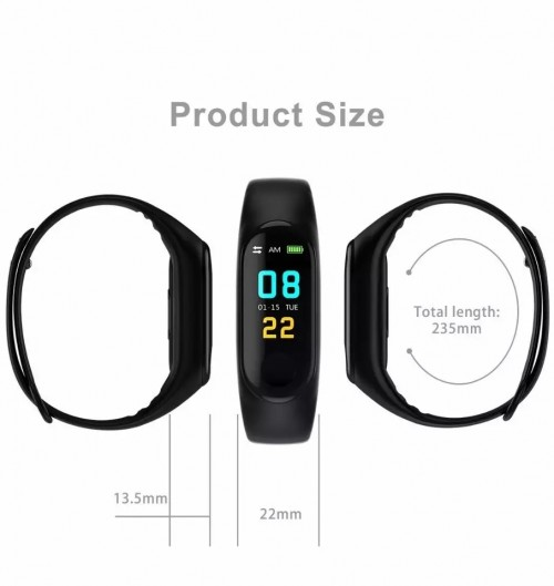 Smart Waterproof Sport Bracelet For Men & Women