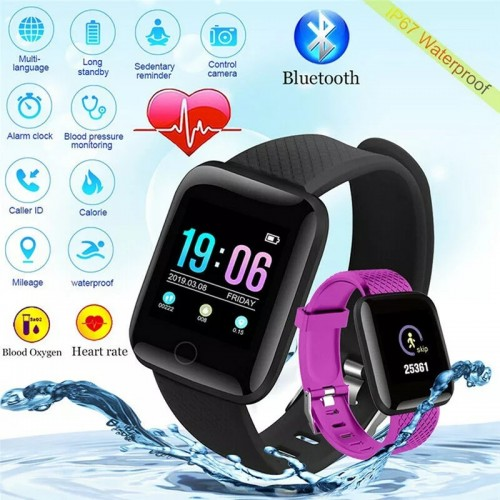Smart Waterproof Men & Women Sports Watch