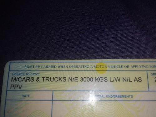Seeking A Driving Job General Licence