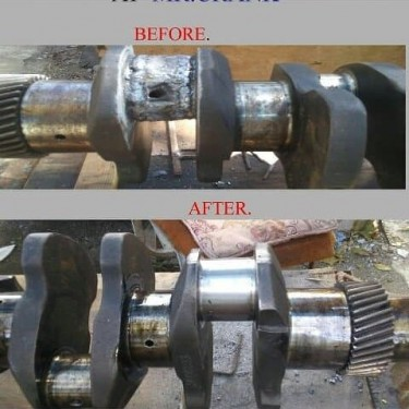Crankshaft  Rebuilding Or Repairs