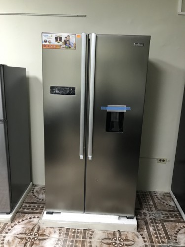 NEW Imperial  20cb Stainless Double Door Fridge