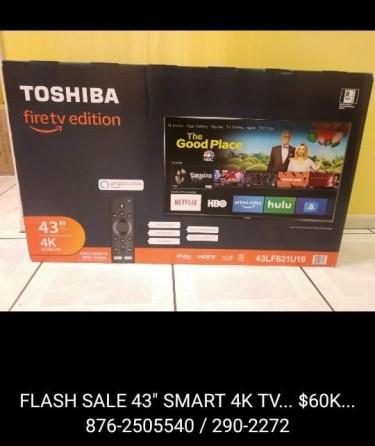 FLASH SALE ON SMART TV