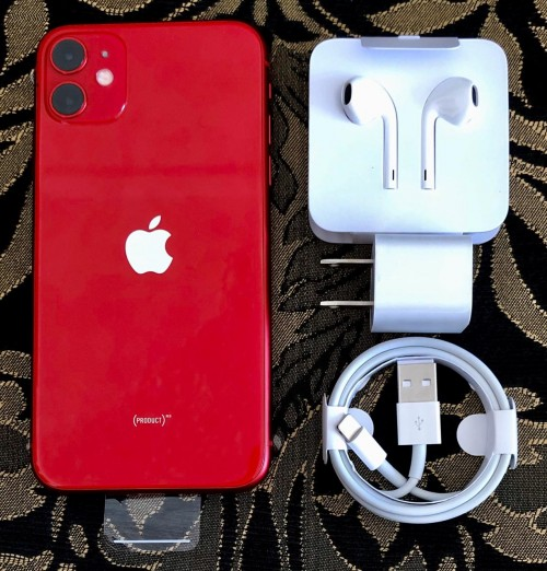 Brand New <br /> Apple IPhone 11 (64GB,COLOR: RED)<br /> Facto