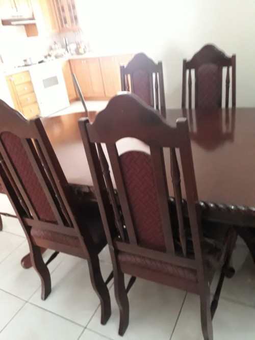 Newly 6 Chair Table