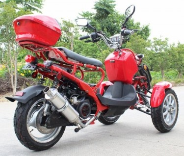 For Sale 50cc Three-Wheel Ruckus Style Trike Scoot