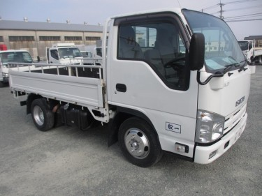 ISUZU ELF FLAT BODY 2010