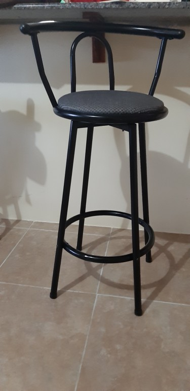 MIGRATION SALE - Metal Bar Stools
